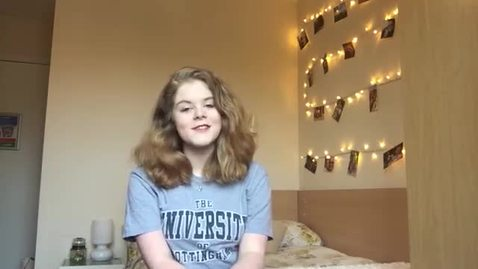 Vlog: Tips on applying to Nottingham