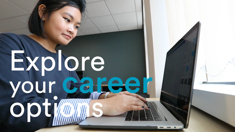 Thumbnail for entry Career advice | Get support from a mentor
