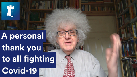 Thumbnail for entry Professor Sir Martyn Poliakoff - #WeAreUoN