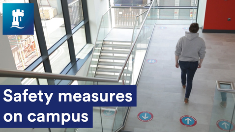 Thumbnail for entry COVID-19 safety measures on campus