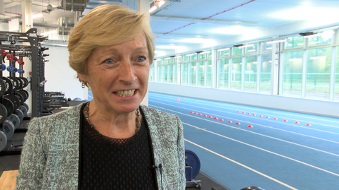 Liz Nicholl: Facilities for elite athletes at University of Nottingham