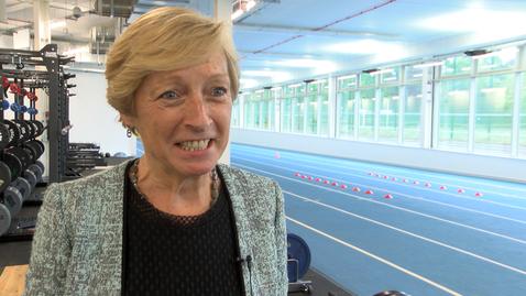 Thumbnail for entry Liz Nicholl: Facilities for elite athletes at University of Nottingham