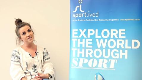 Thumbnail for entry Sport Lived, Nottingham Internship Scheme