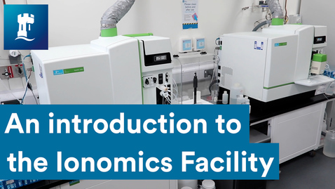 Thumbnail for entry An introduction to the Ionomics Facility