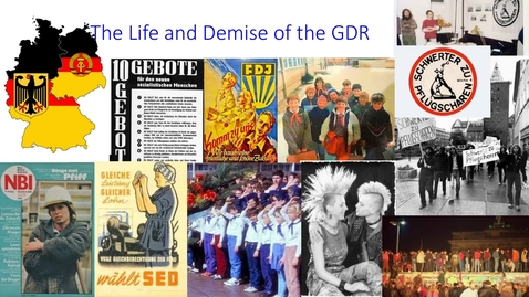 Thumbnail for entry MLAC2133 The Life and Demise of the GDR