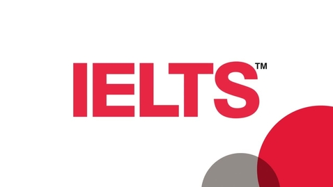 Thumbnail for entry Advice on preparing for IELTS