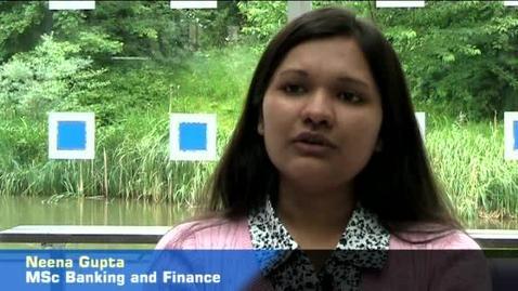 Thumbnail for entry MSc Banking & Finance - Neena Gupta