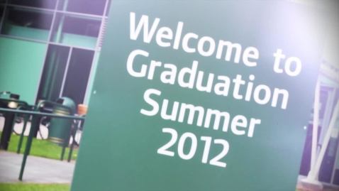 Thumbnail for entry Summer 2012 Graduation