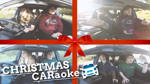 Thumbnail for entry 🚘 Christmas CARaoke 🎤 All I want for Christmas is you... 🎁 #mashup