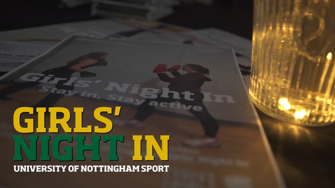Thumbnail for entry 'This Girl Can' girls' night in at UoN