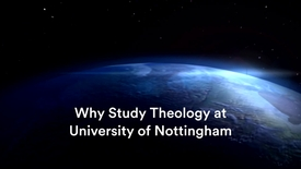Thumbnail for entry Why Study Theology at Nottingham with Frances Knight