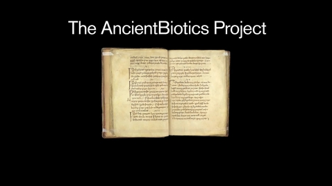 Thumbnail for entry AncientBiotics — a medieval remedy for modern day superbugs?