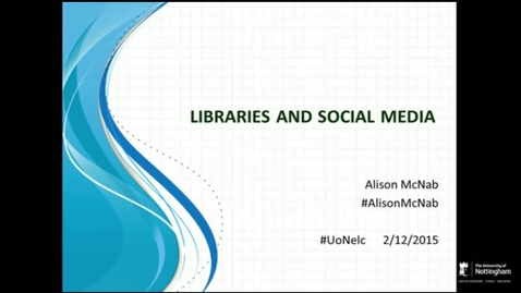 Thumbnail for entry Alison McNab at 2nd December 2015 Teaching and Learning Seminar: Connecting with the Professions