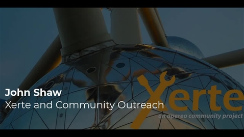 Thumbnail for entry John Shaw - Xerte as a tool for Community Outreach