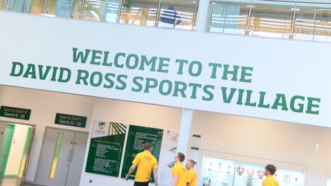 Thumbnail for entry David Ross Sports Village official opening