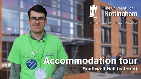 Thumbnail for entry Jubilee Campus - Southwell Hall tour (catered accommodation)