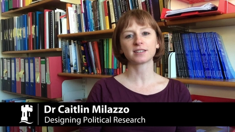 Thumbnail for entry M12086 Designing Political Research