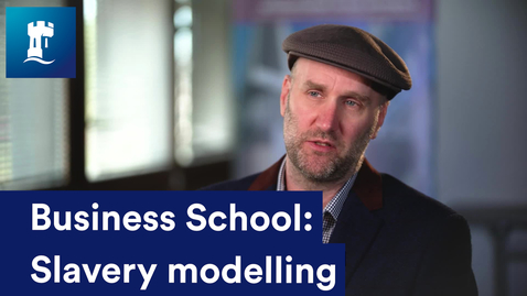 Thumbnail for entry Slavery modelling - Professor Thomas Chesney and Dr Alexander Trautrims