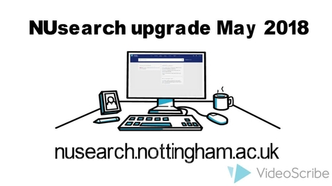 Thumbnail for entry NUsearch improvements May 2018