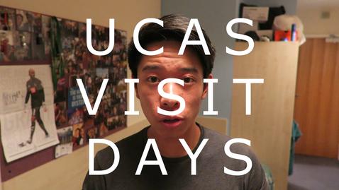Thumbnail for entry Vlog: UCAS visit days