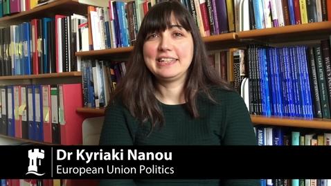 Thumbnail for entry M13206 & M14348 European Union Politics