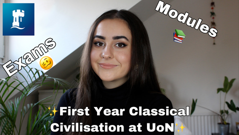 Thumbnail for entry First Year Classical Civilisation at the University of Nottingham