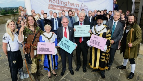 Nottingham in Parliament Day launch
