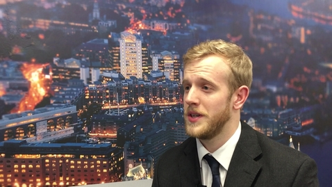 Thumbnail for entry Alexander Stephens, engineering alumnus, talks about his move into the construction sector