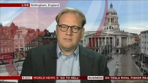 Thumbnail for entry Christopher Phelps interviewed on BBC World News