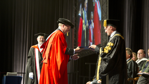 Thumbnail for entry Honorary Graduate 2014 - Mark Ovenden - Dr of Laws