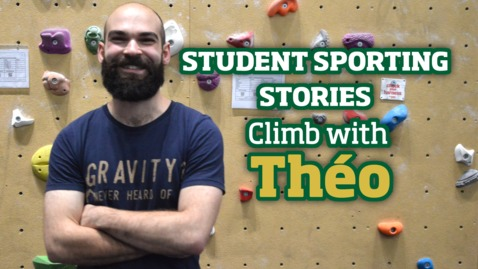 Thumbnail for entry Student Sporting Stories | Climbing with Theo