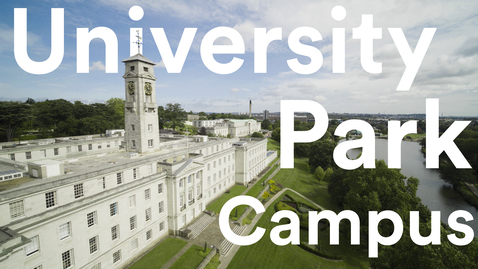 Thumbnail for entry University Park Campus tour | University of Nottingham