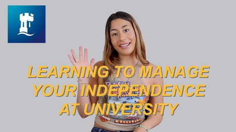 Thumbnail for entry Vlog: Learning to become independent at uni