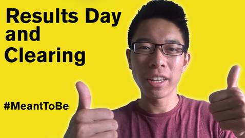 Thumbnail for entry Vlog: Results Day and Clearing - #MeantToBe