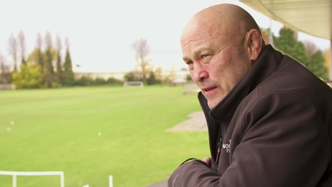 Thumbnail for entry Rugby Centenary: Brian Moore - back on campus