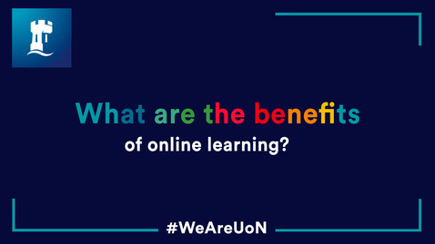 Thumbnail for entry What are the benefits of online learning?