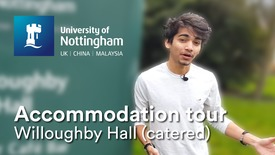 Thumbnail for entry Uni Park Campus - Willoughby Hall (catered accommodation)