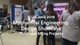 Thumbnail for entry Mechanical Engineering Design Showcase 2018