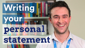 Thumbnail for entry Top 5 personal statement tips