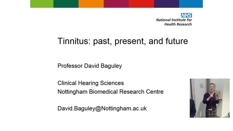 Thumbnail for entry Tinnitus: past, present, and future