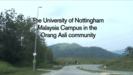 Thumbnail for entry UNMC students at work in the Orang Asli community