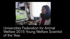 Thumbnail for entry Young Animal Welfare Scientist of the Year