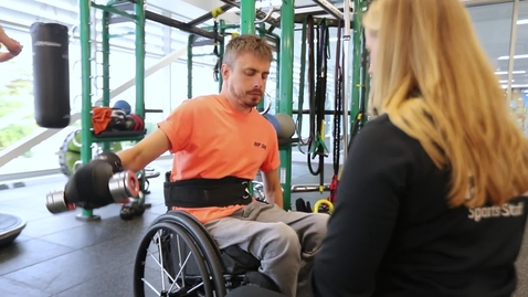 Thumbnail for entry UoNSport Supported Fitness Sessions – Pete's Story