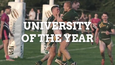 Thumbnail for entry We are University of the Year for Sport and International