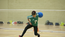 Thumbnail for entry Goalball at The University of Nottingham