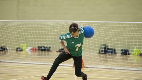 Thumbnail for entry Goalball at The University of Nottingham