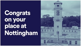 Thumbnail for entry #UoNFreshers - What to do before you arrive