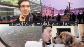 Thumbnail for entry Vlog: Travelling home for Christmas
