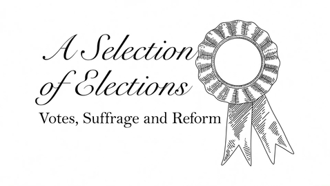 Thumbnail for entry A Selection of Elections: James Morrison
