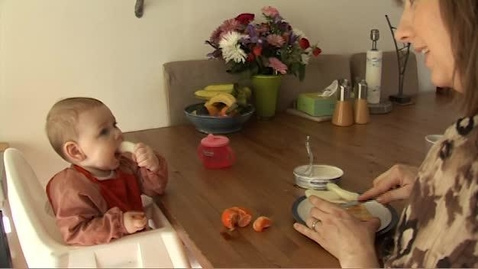 Thumbnail for entry Baby knows best when it comes to weaning.